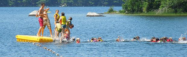 Swimming at Nichols Day Camps