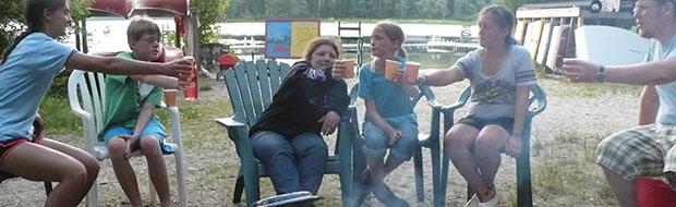 Camping at Adventure Camp at Nichols Day Camps