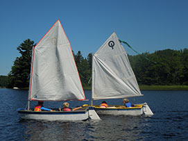 Sailing at Nichols Day Camps