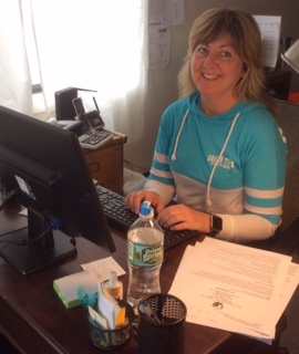 Our new office manager Tracy Eisenhauer